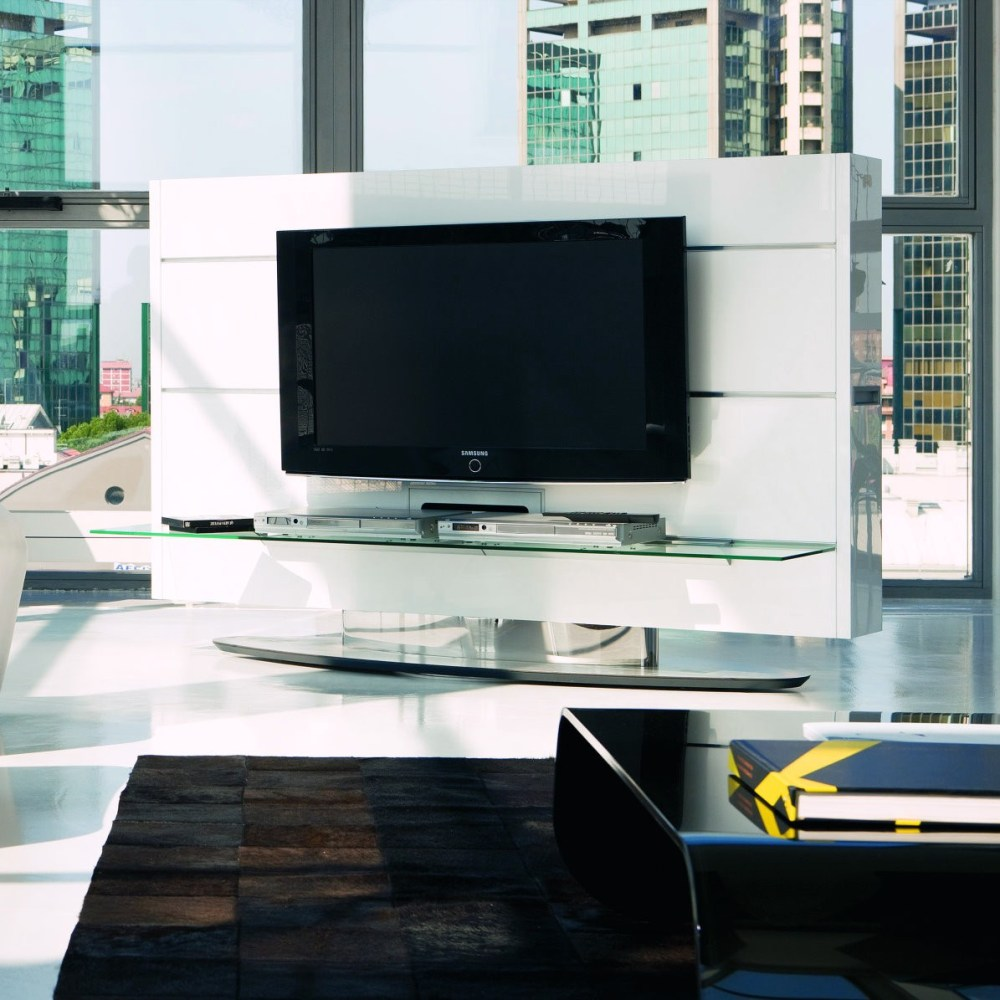 Double Sided Tv Stand