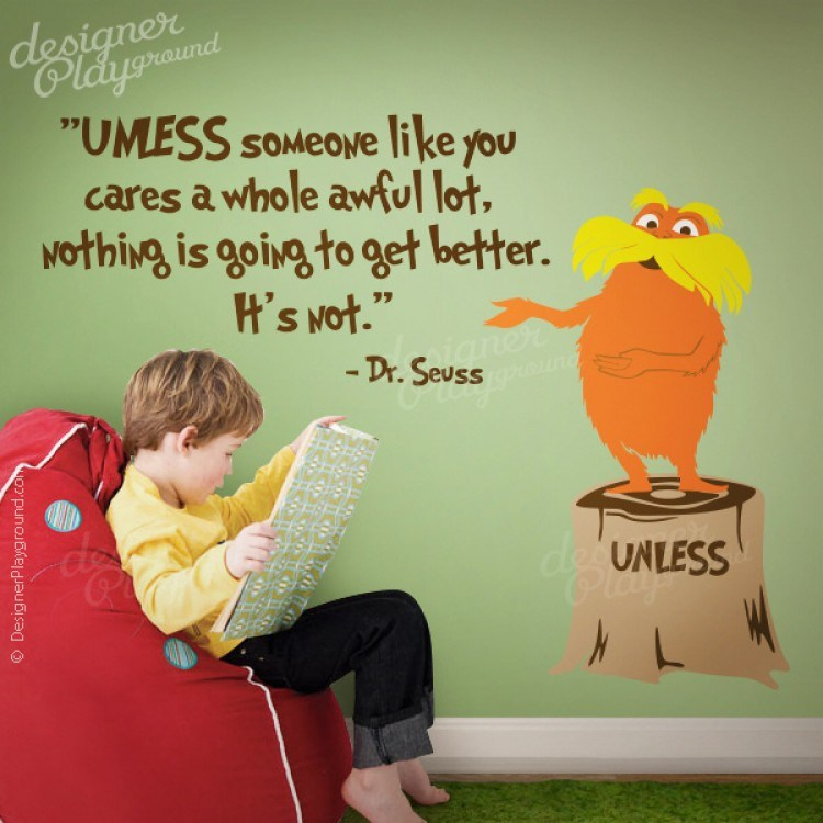 Dr Seuss Quotes Wall Decals