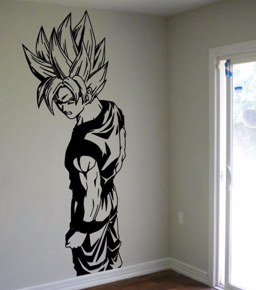 Dragon Ball Z Wall Decals