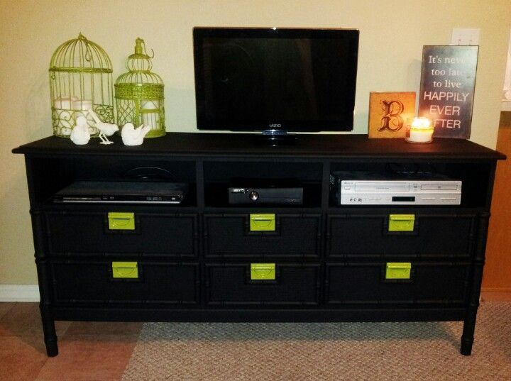 Dresser Into Tv Stand Pinterest