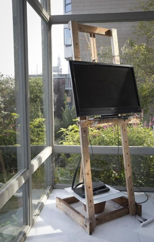 Easel As Tv Stand