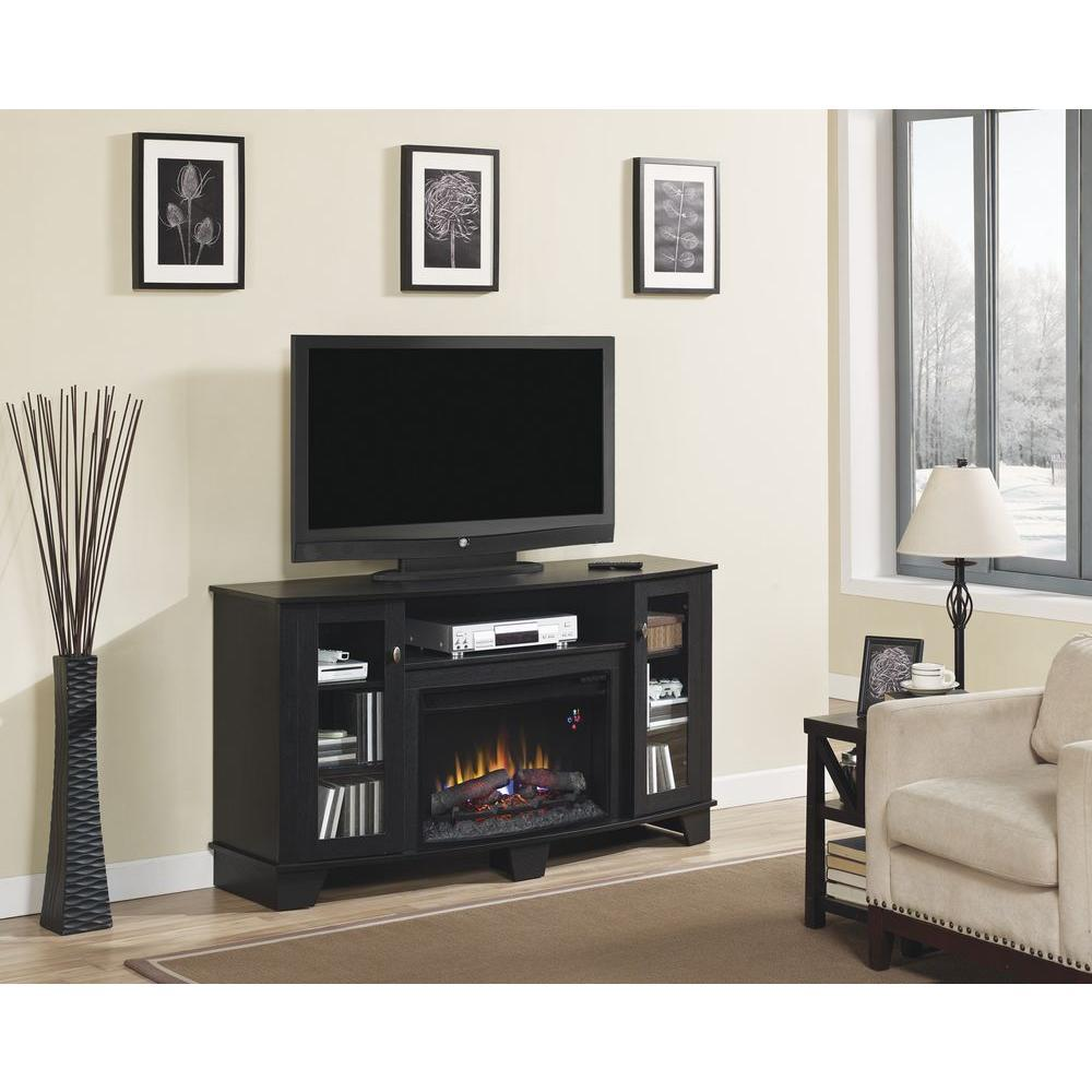 Electric Fireplace Tv Stand Home Depot