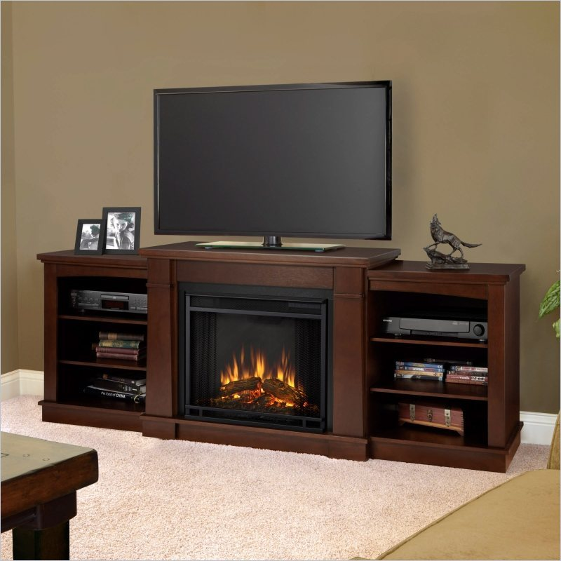 Electric Fireplace Tv Stands At Home Depot