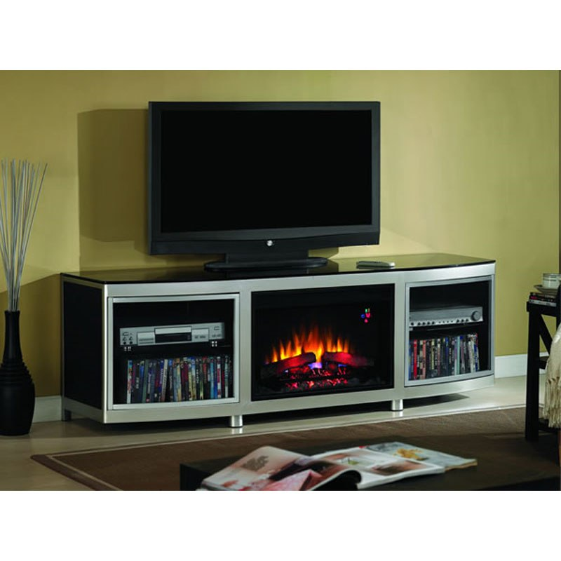 Electric Fireplace With Tv Stand At Walmart