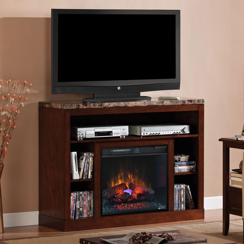 Electric Fireplace With Tv Stand Home Depot