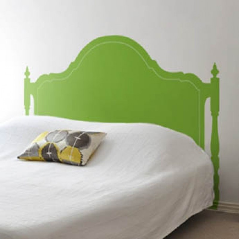 Elegant Headboard Wall Decal