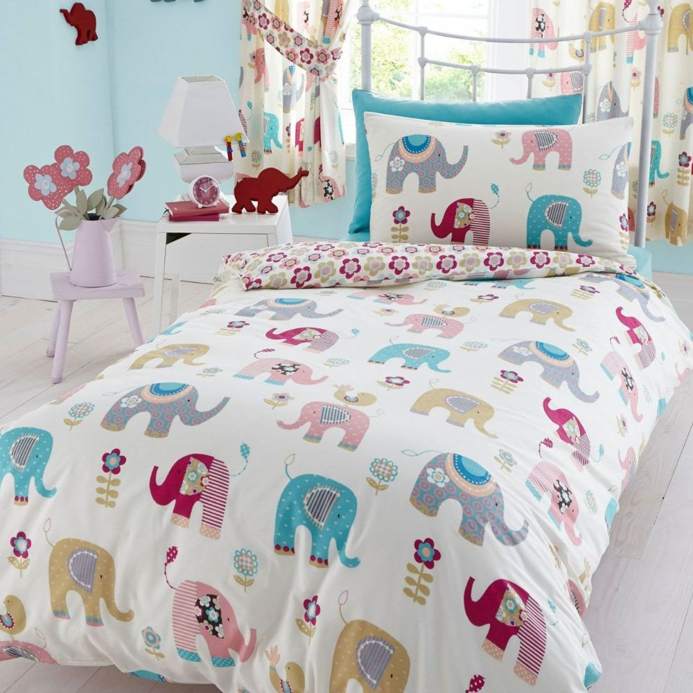 Elephant Kids Bedding