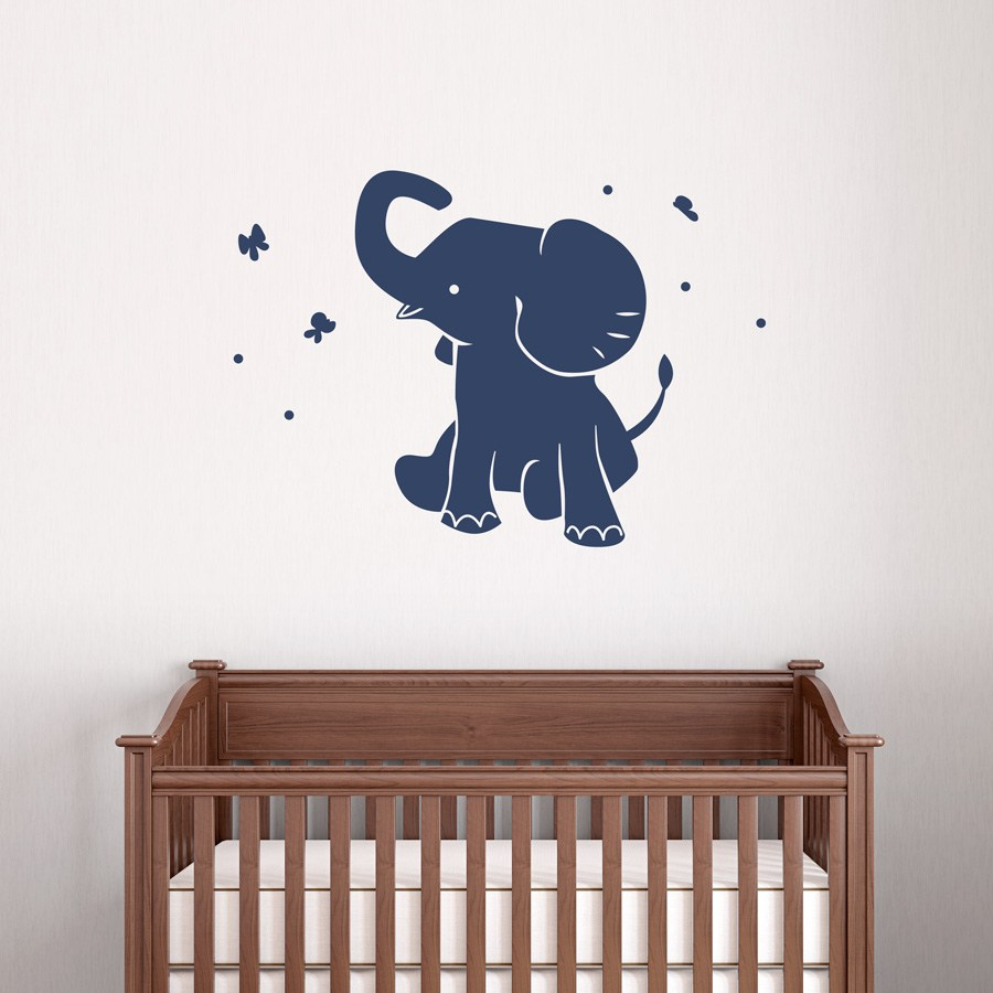 Elephant Wall Decals Nursery