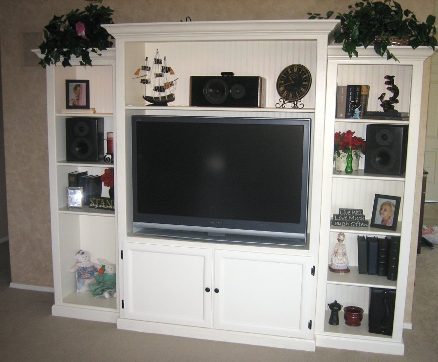 Entertainment Centers Diy