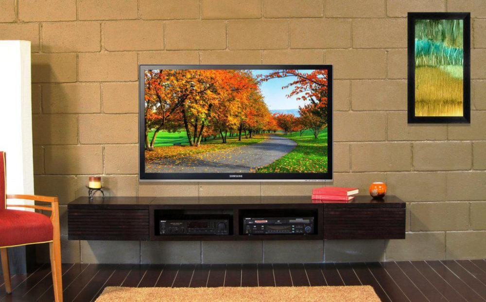 Entertainment Centers For Wall Mounted Tvs