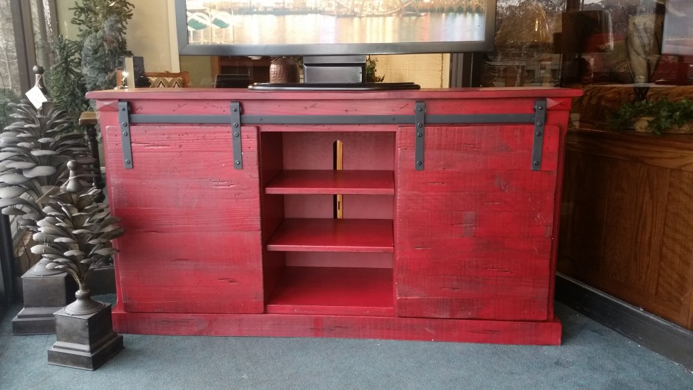 Entertainment Centers With Barn Doors