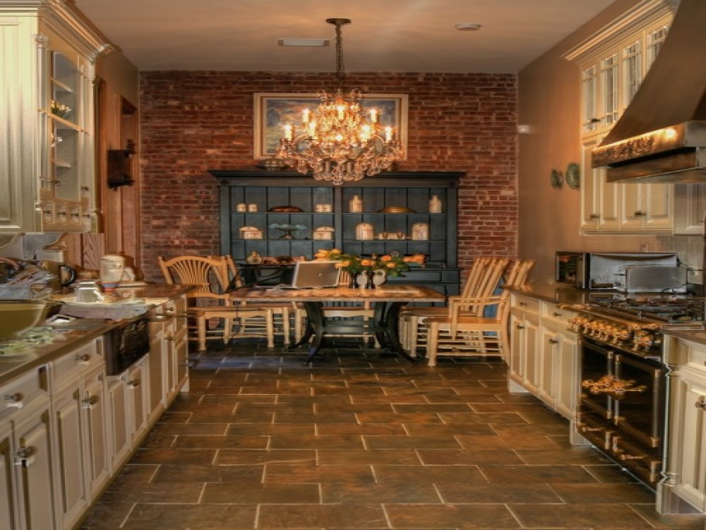 Exposed Brick Wall Decal