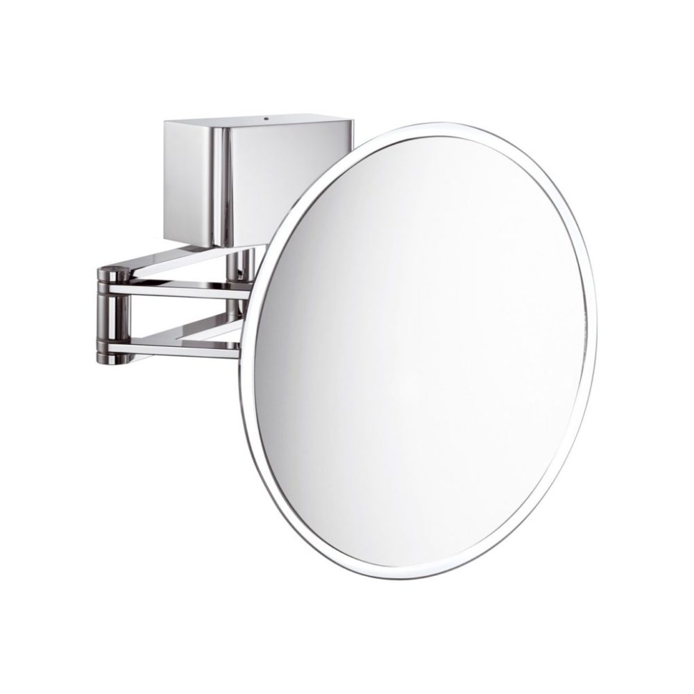 Extendable Bathroom Mirror With Light