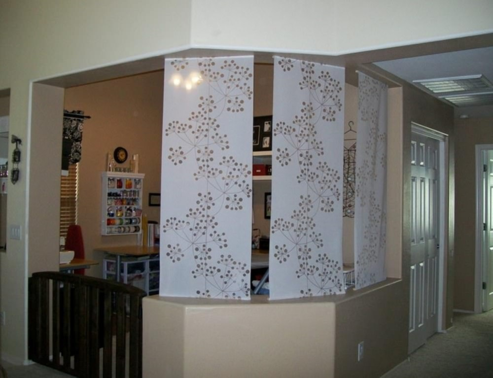 Fabric Room Dividers Diy