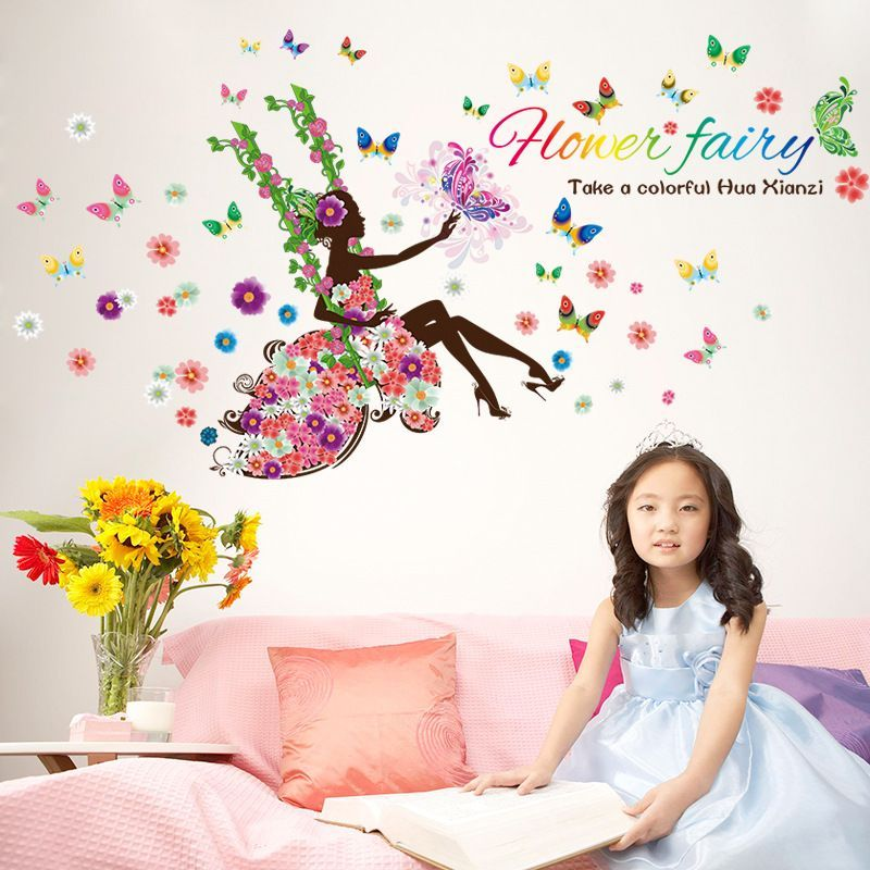 Fairy Wall Decals For Kids