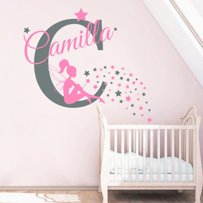 Fairy Wall Decals Nursery