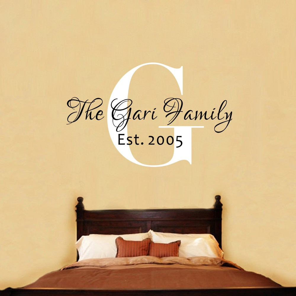 Family Established Wall Decals