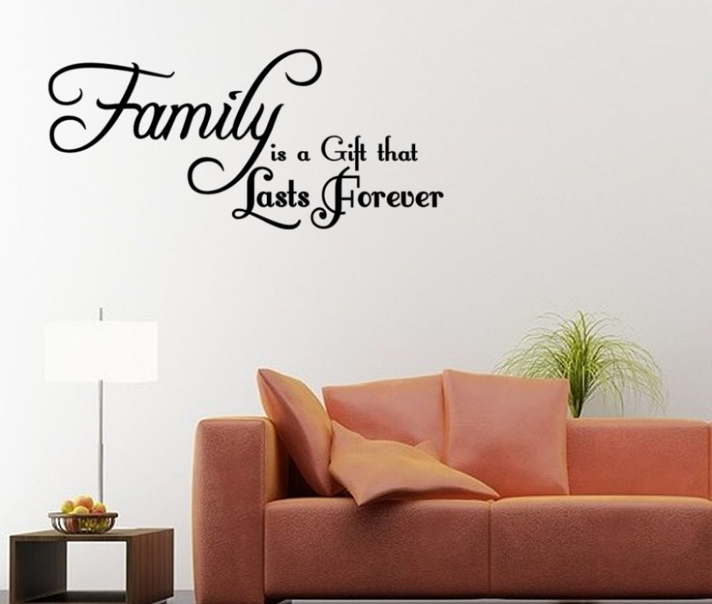 Family Quote Wall Decals