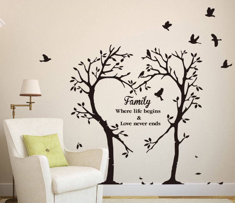 Family Tree Decals For Wall