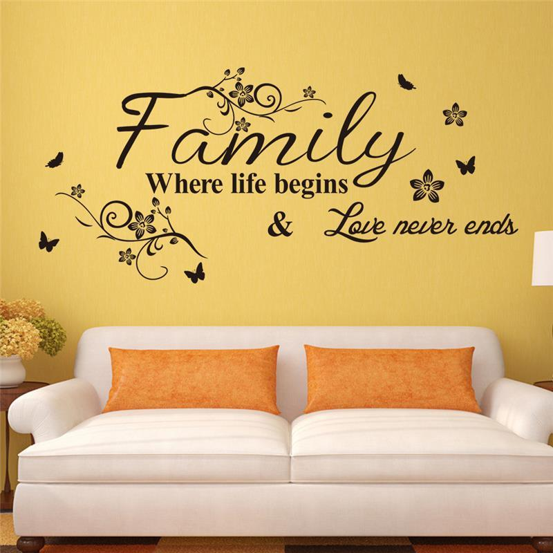 Family Wall Decals Quotes