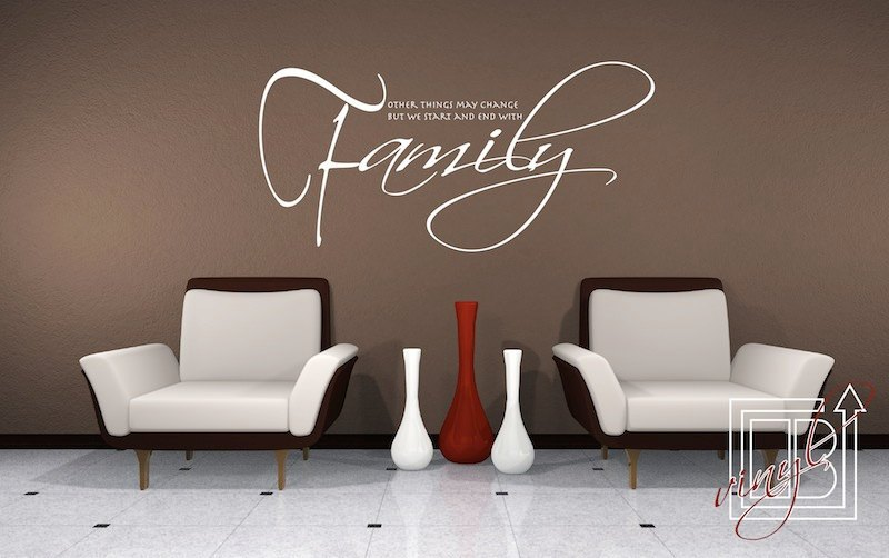 Family Wall Quotes Decals