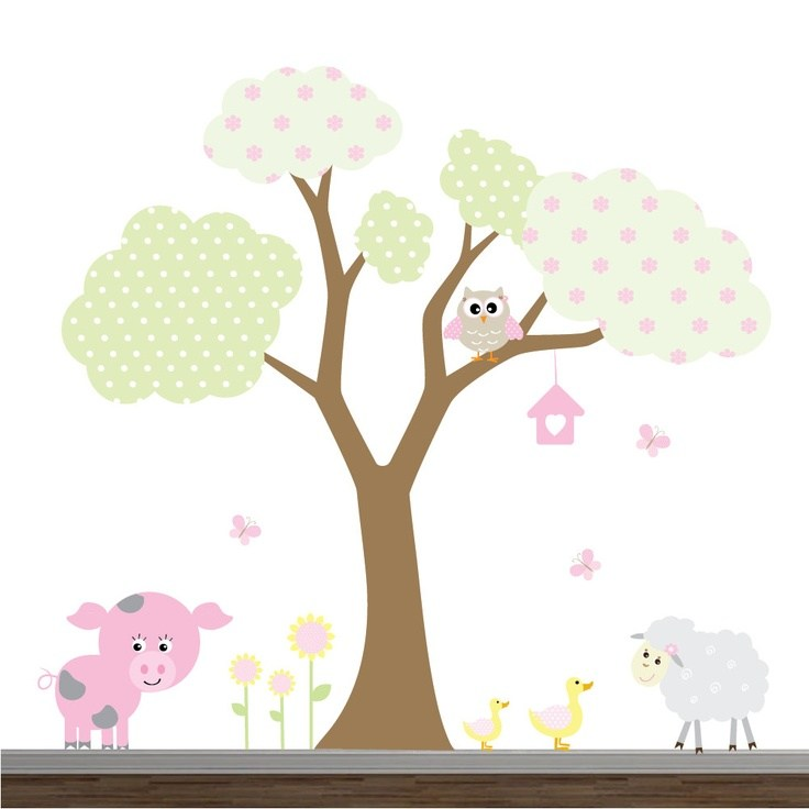Farm Vinyl Wall Decals