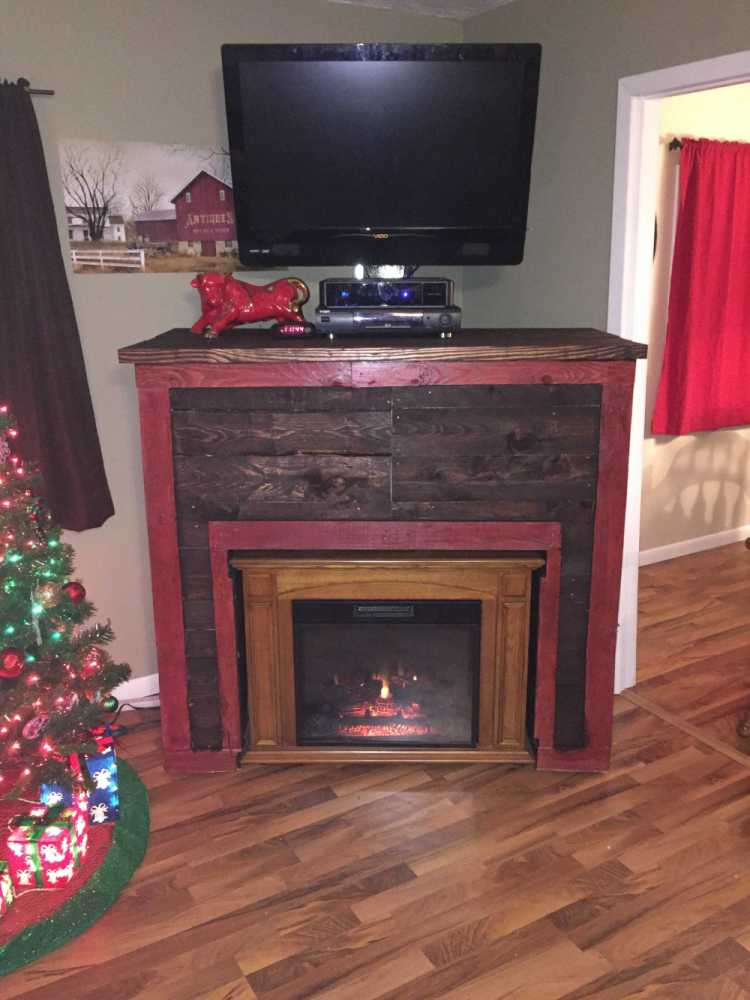 Faux Fireplace Tv Stand