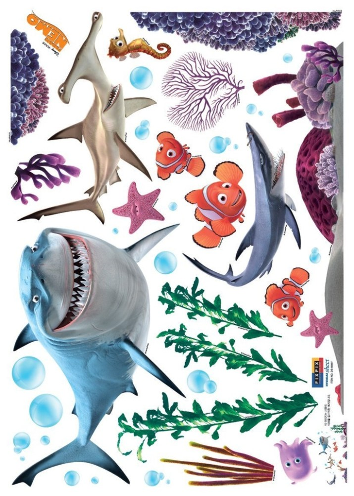 Finding Nemo Wall Decals Amazon