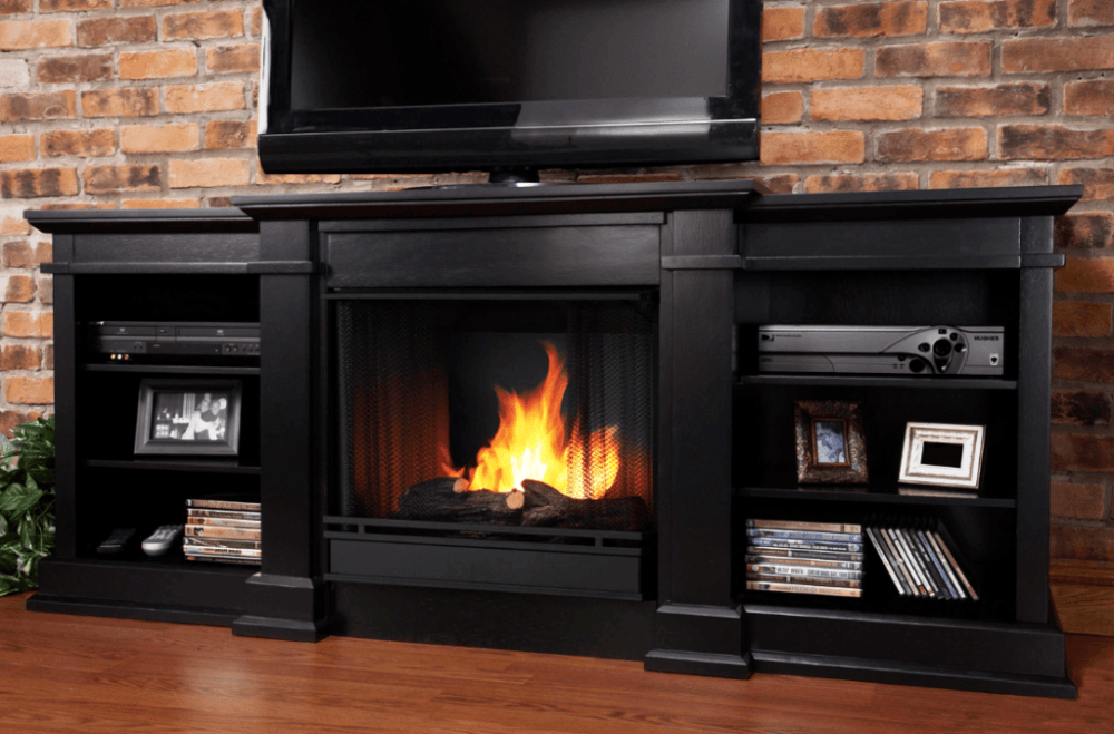 Fireplace Tv Stand Walmart