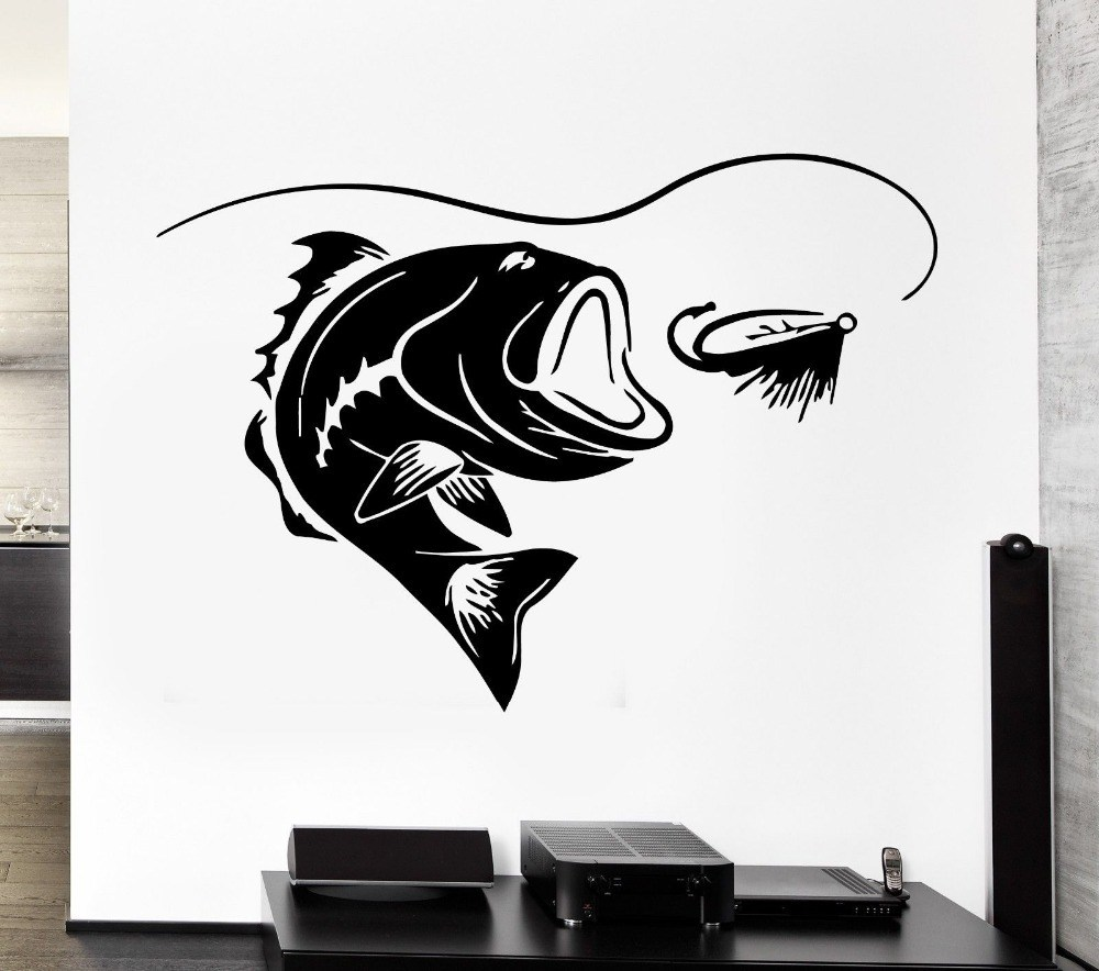 Fishing Wall Decals