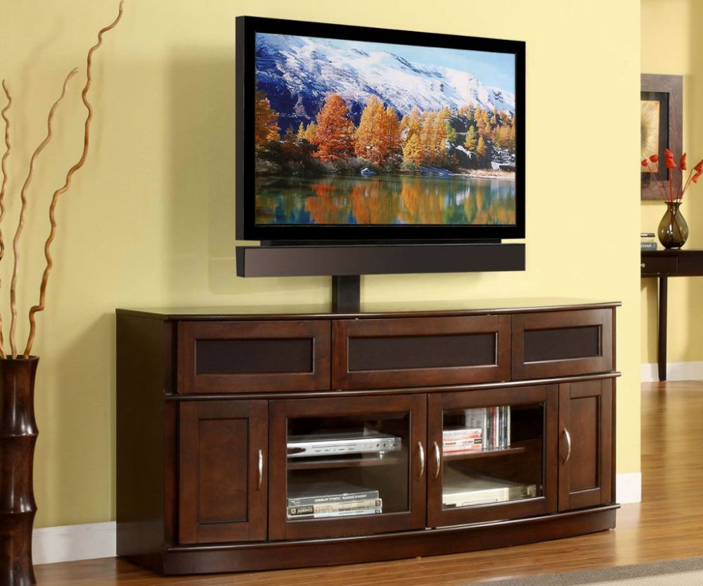 Flat Panel Tv Stand Espresso 56 Whalen