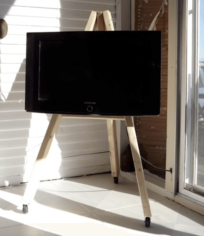 Flat Screen Tv Easel Stand