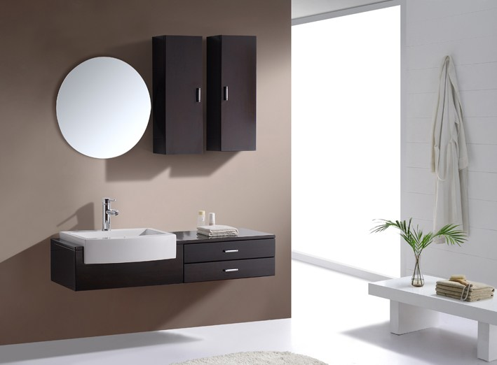 Floating Bathroom Vanity Cabinets