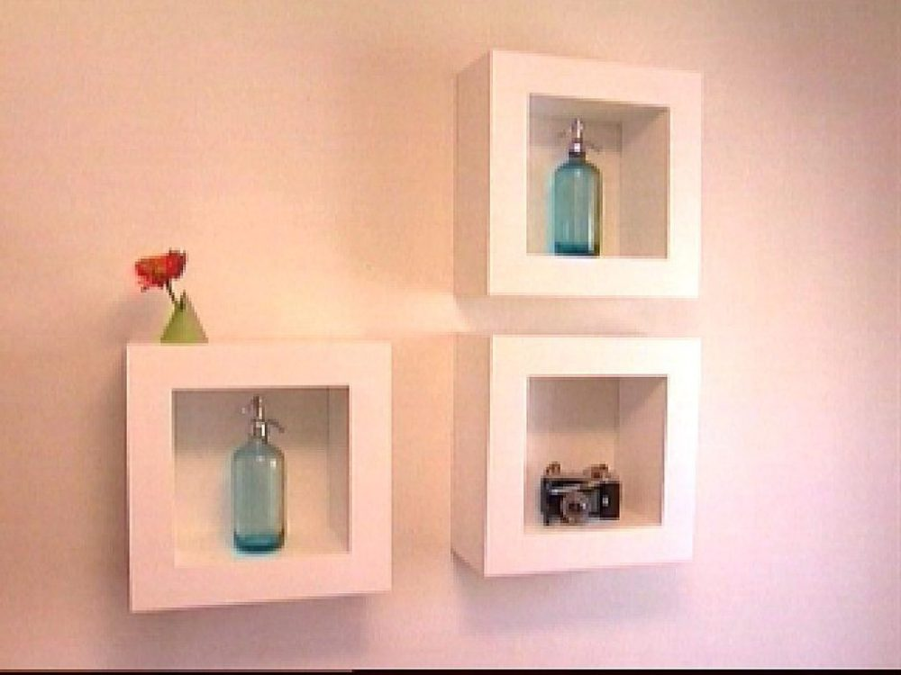 Floating Box Shelves Diy