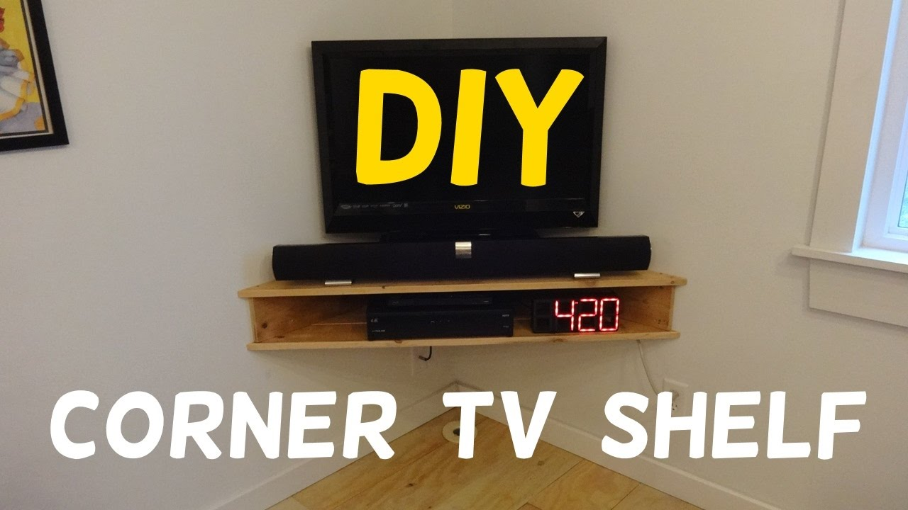 Floating Corner Tv Stand