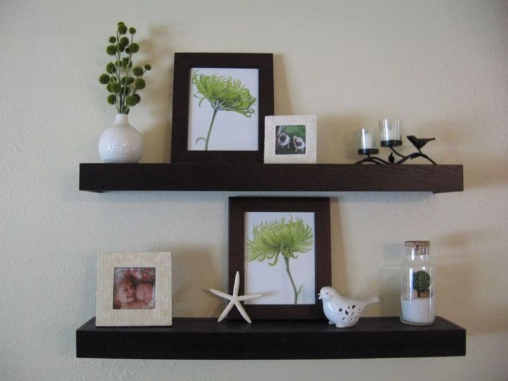 Floating Shelves Espresso