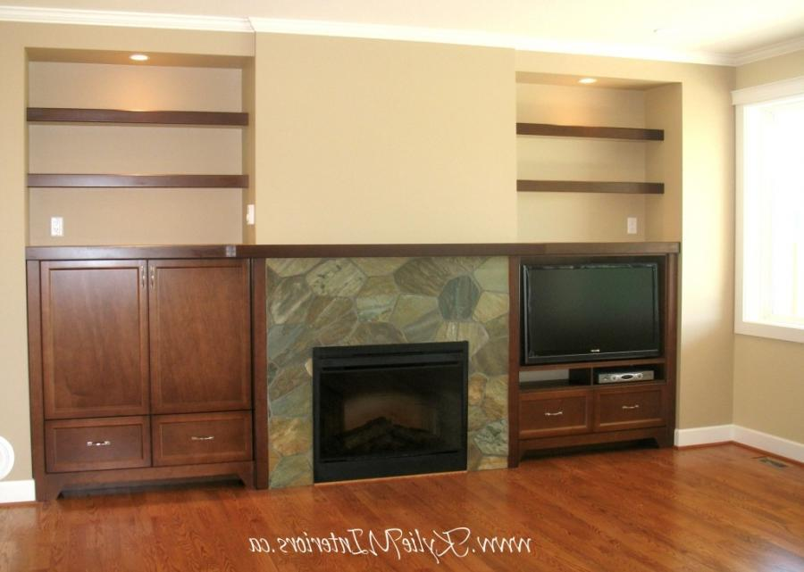 Floating Shelves For Fireplace
