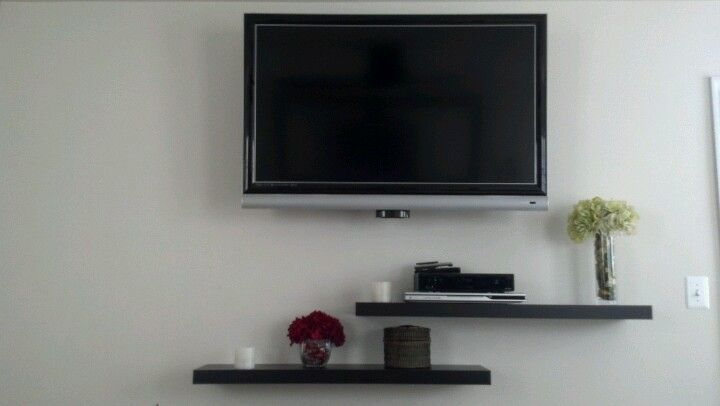 Floating Shelves For Under Tv