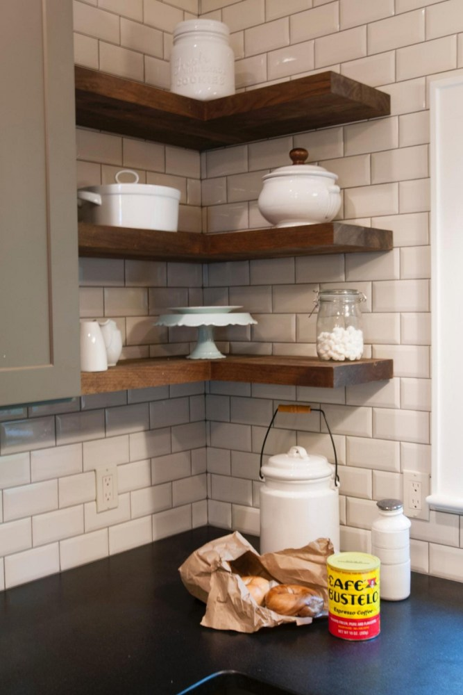 Floating Shelves Kitchen Diy