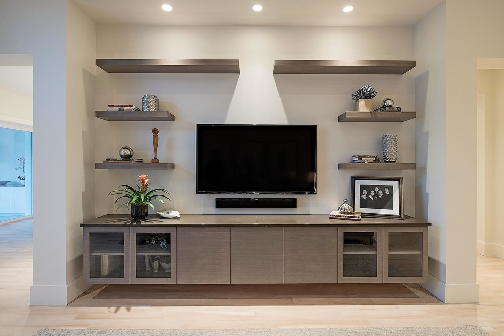 Floating Shelves Tv Wall