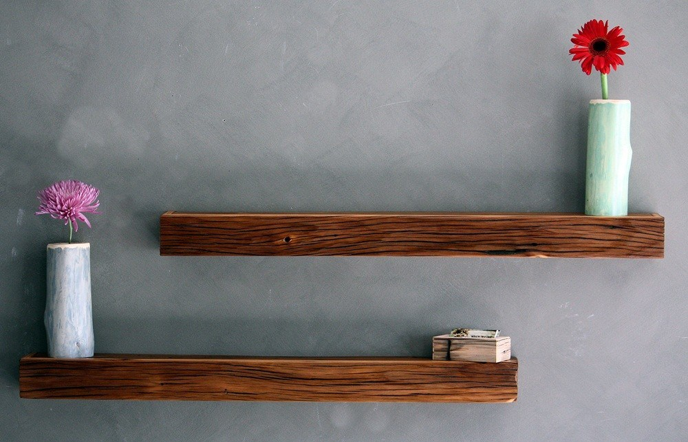 Floating Shelves Wood
