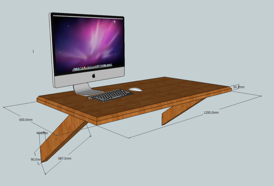 Floating Tv Stand Plans