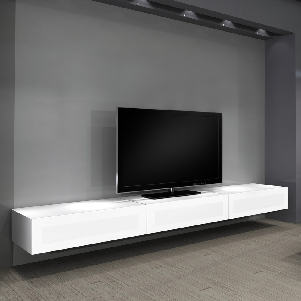 Floating Tv Stand White