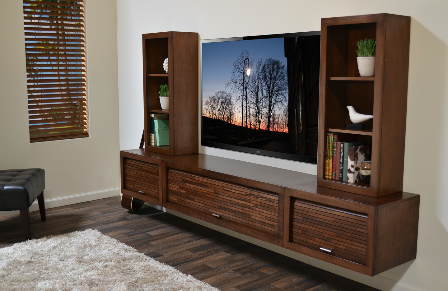 Floating Wall Mount Tv Stand