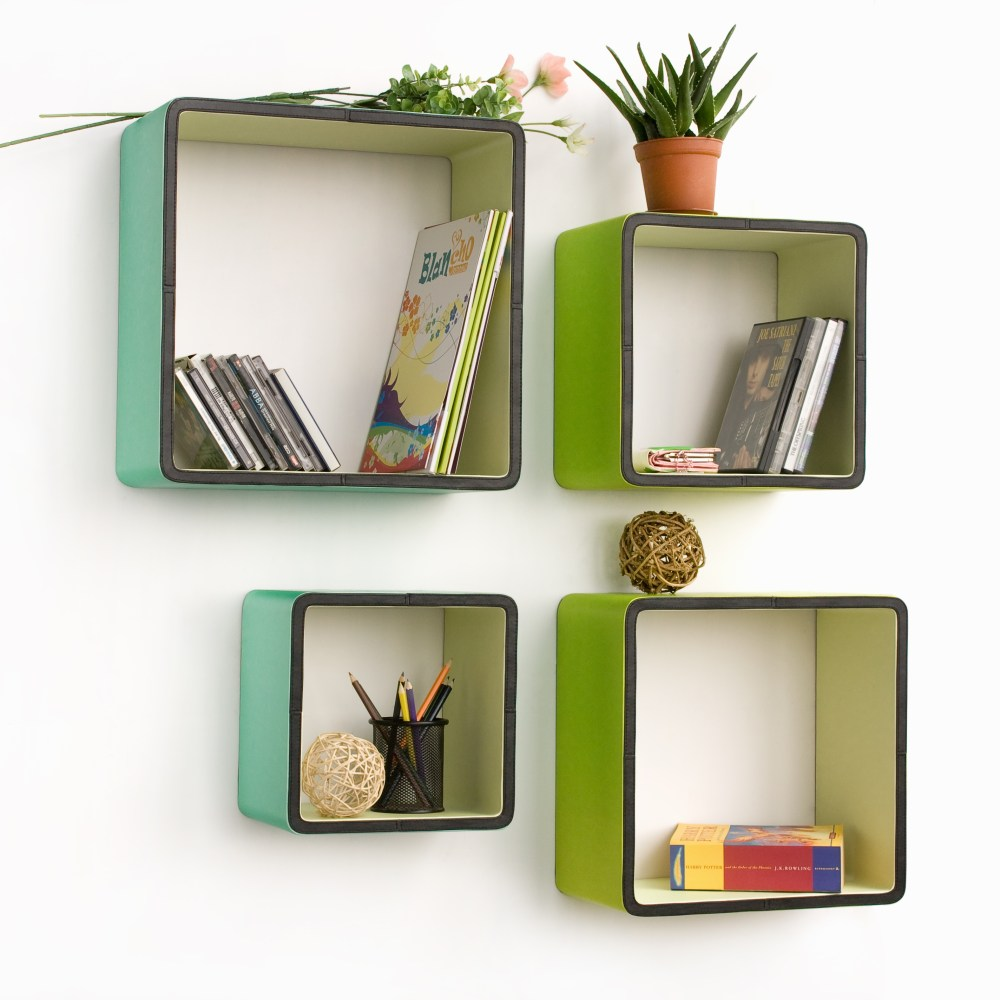 Floating Wall Shelves Design Ideas