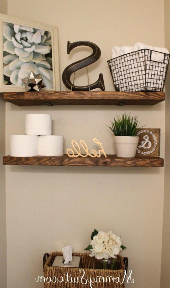 Floating Wall Shelves For Bathroom