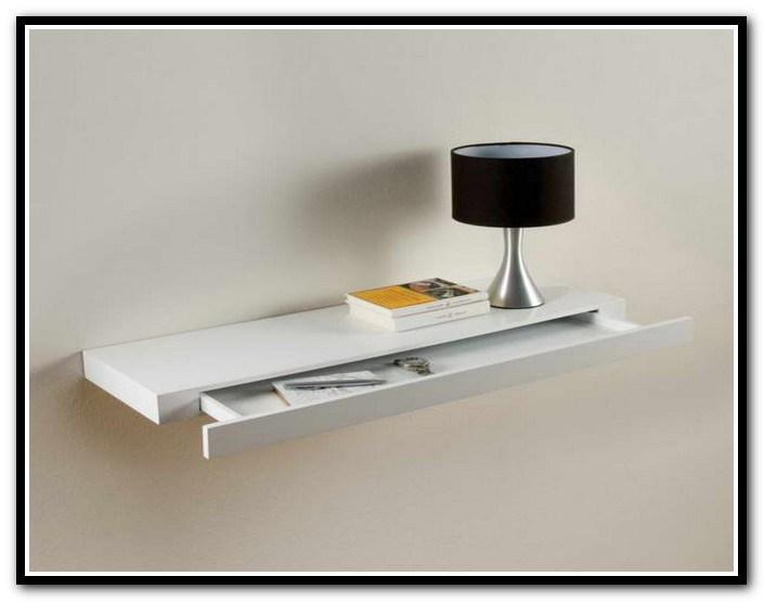 Floating White Shelves Uk