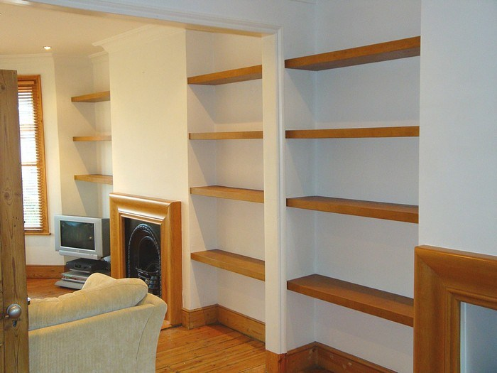 Floating Wood Shelves Canada
