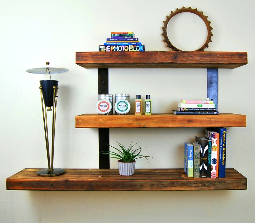Floating Wood Shelves For Kitchen