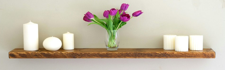 Floating Wooden Shelves